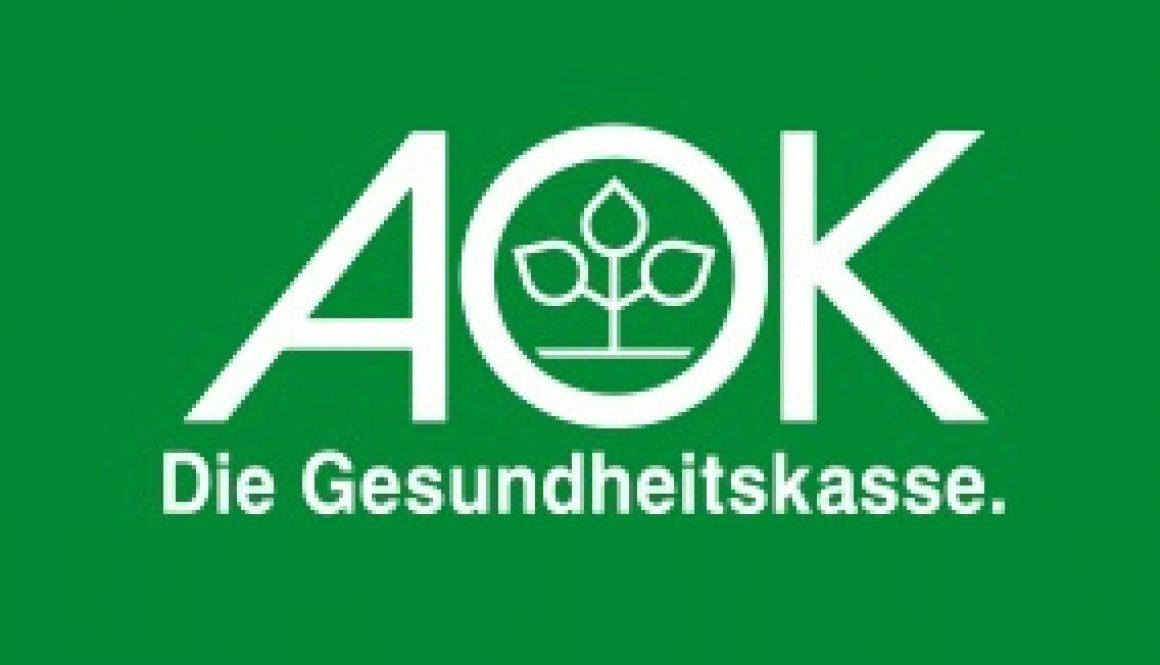 Kooperation mit der AOK – FIT MIT AOK