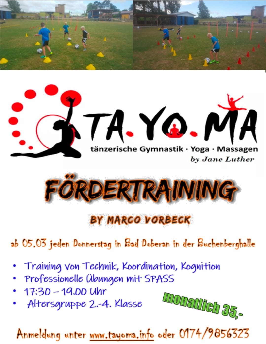 Fördertraining by Marco Vorbeck