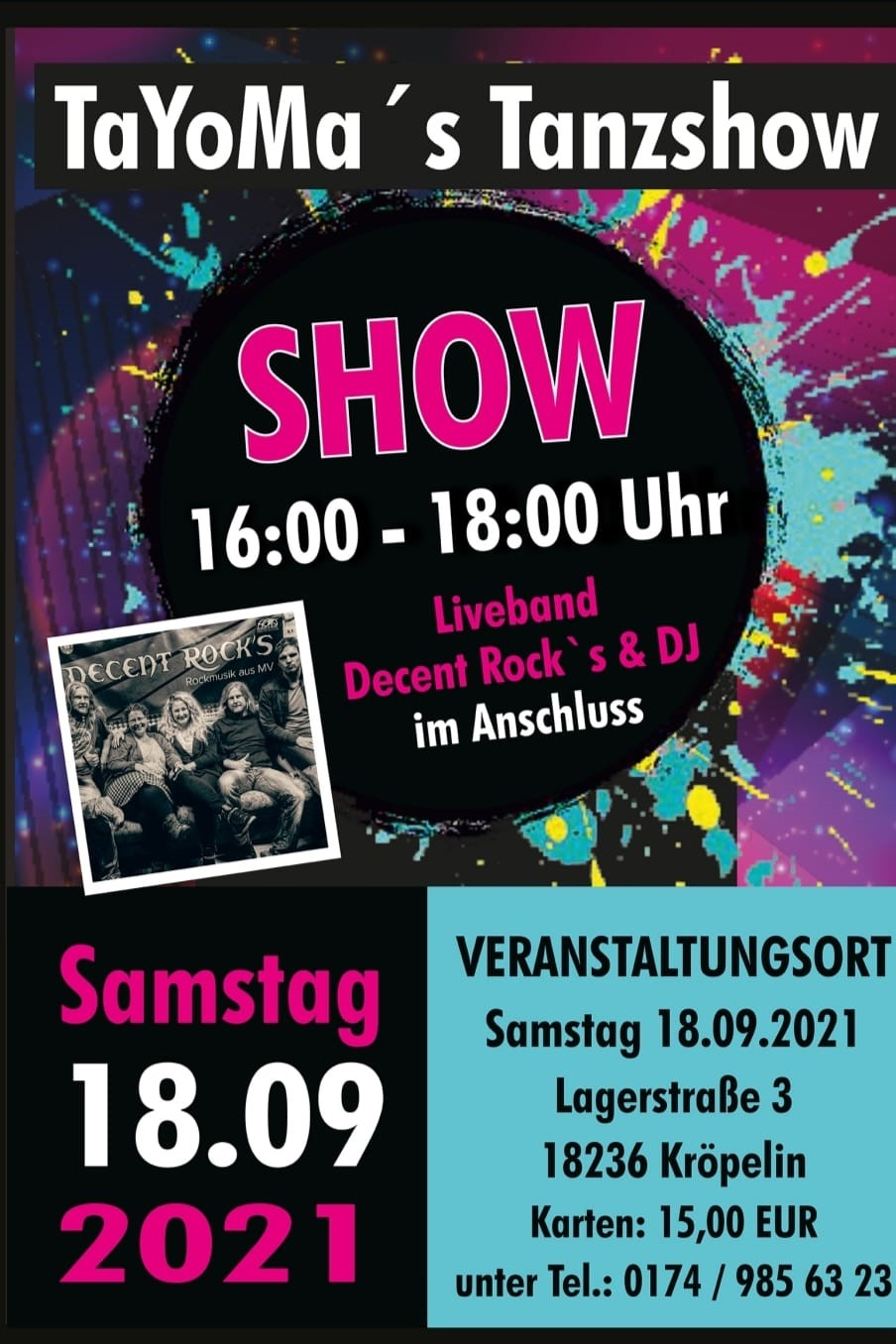 Tanzshow 2021